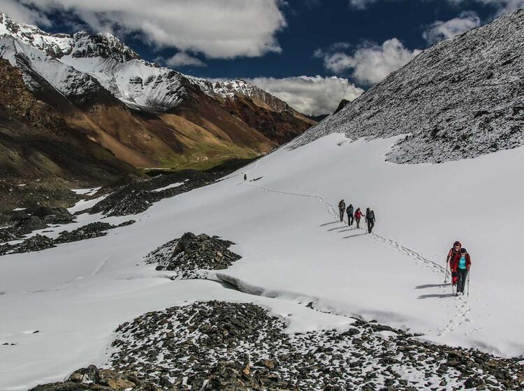 Trekkingreise Nach Kirgistan