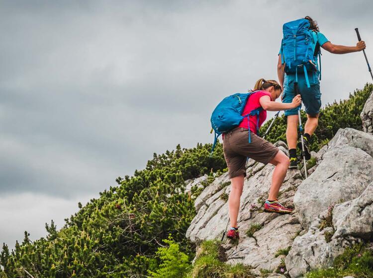 Trittsicherheit Lernen Beim Wandern