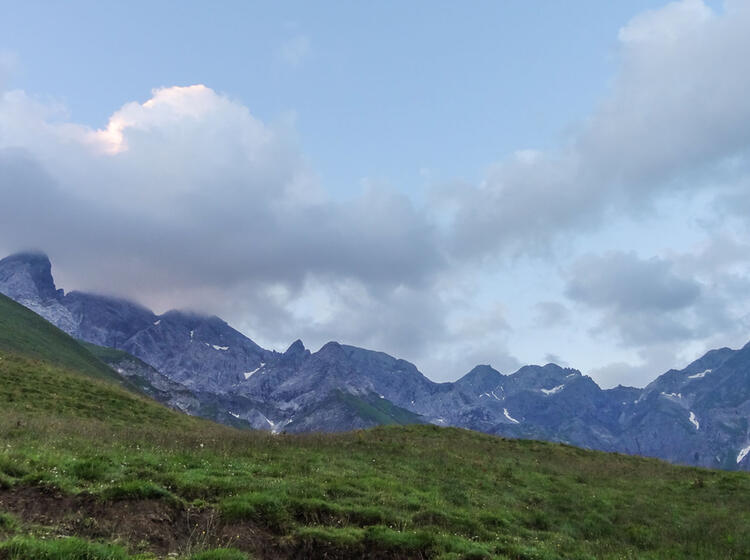 Ueberquerung Der Alpen Auf Dem E5 Von Oberstdorf Nach Meran