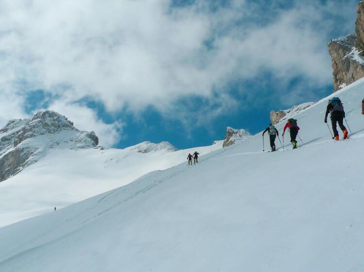 Unberuehrte Skitouren In Montenegro