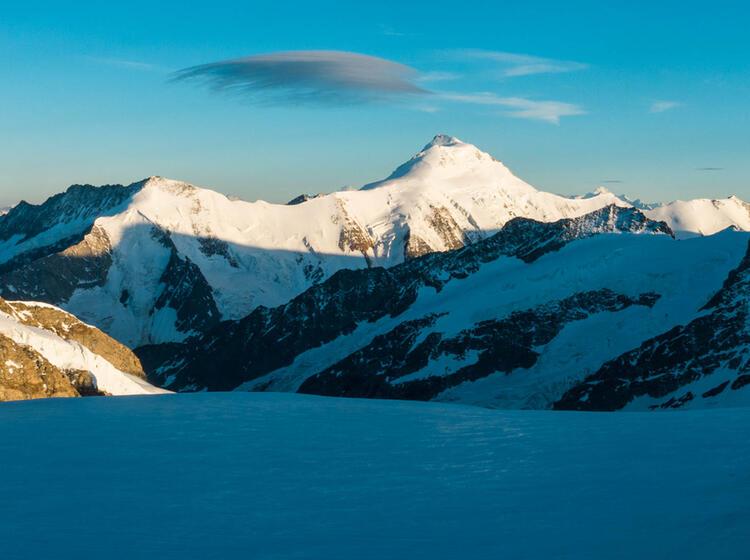 Unesco Weltkulturerbe Aletsch Gletscher Und Aletsch Horn