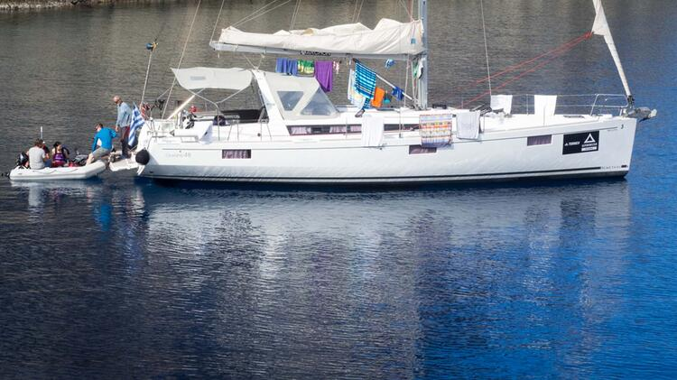 Unsere Yacht Beneteau 48