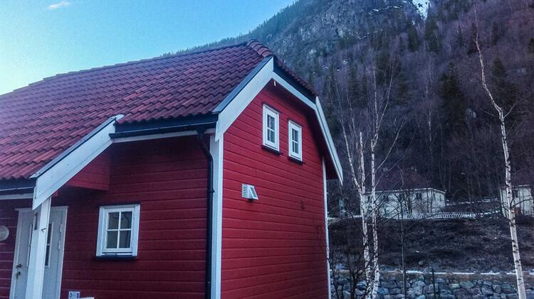 Unterkunft Beim Eisklettern In Norwegen