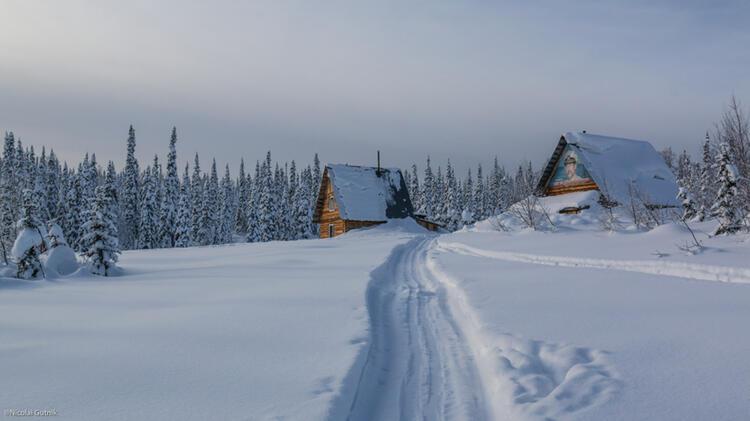 Unterkunft Fuer Skitouren In Sibirien Altai