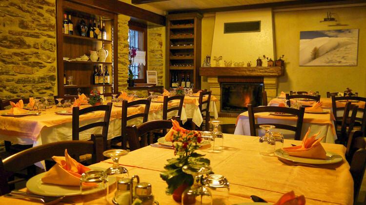 Valle Maira Pensione Ceaglio Restaurant