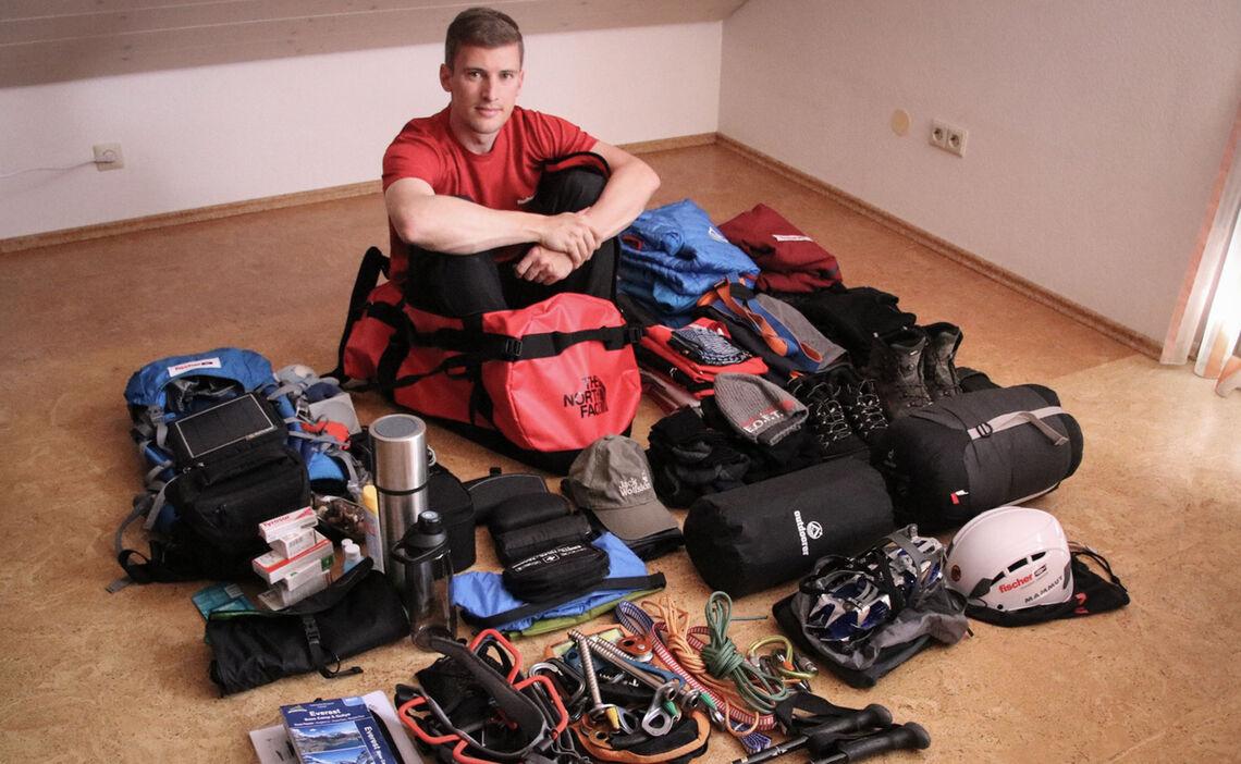Vorbereitung Expedition Island Peak 2