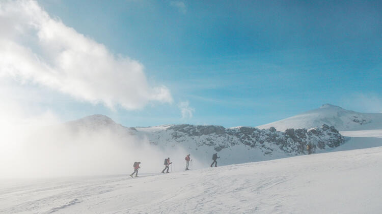 Wallis Skitour Strahlhorn