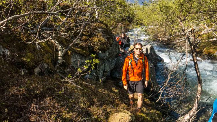 Wandern Abseits Von Wegen In Norwegen
