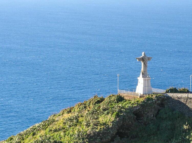 Wandern Am Meer Auf Der Fernreise Madeira