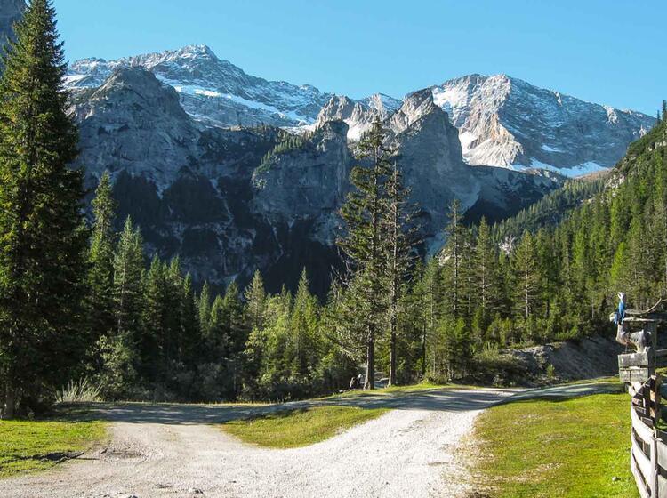 Wandern Auf Der Fanes Alm In Den Dolomiten
