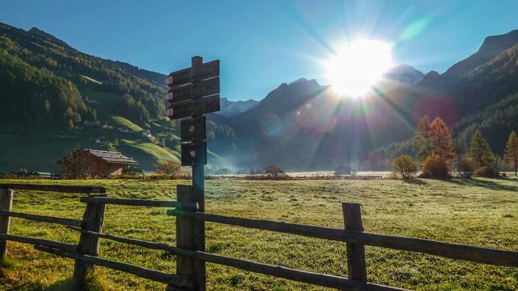 Wandern Im Ahrntal In Suedtirol