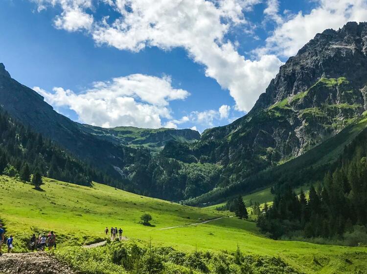Wandern Im Gaisbachtal Kleinwalsertal