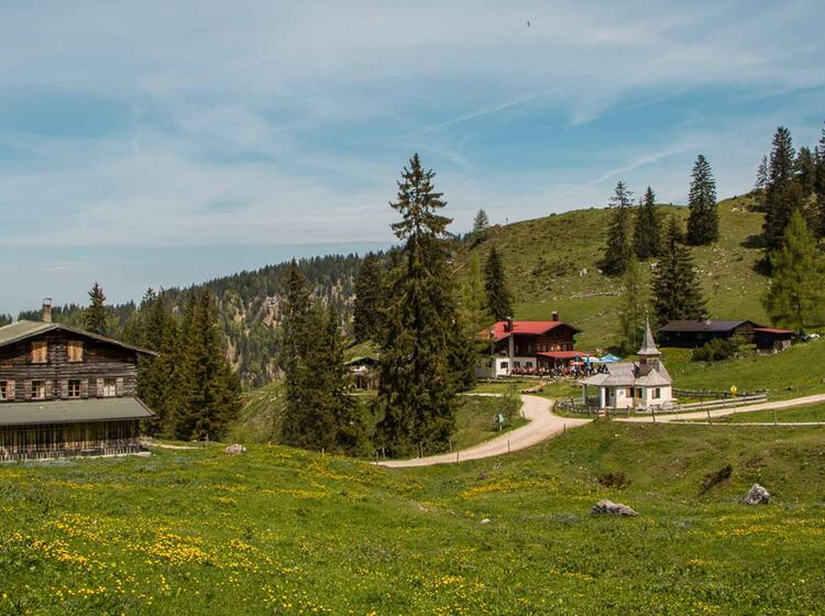 Wandern Im Kaiser Gebirge In Tirol