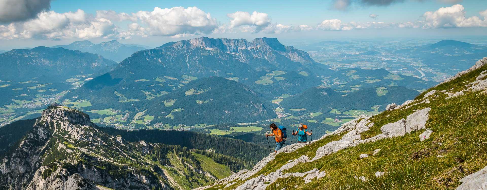 Wandern im Nationalpark bei Berchtesgaden