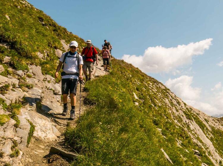 Wandern In Chamnoix Am Fusse Des Mont Blanc