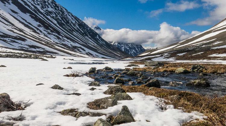 Wandern In Den Lyngen Alpen