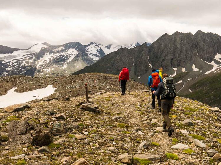 Wandern In Den Westalpen Rund Um Den Mont Banc
