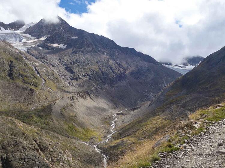 Wandern In Der Bernina Auf Dem Bernina Trek