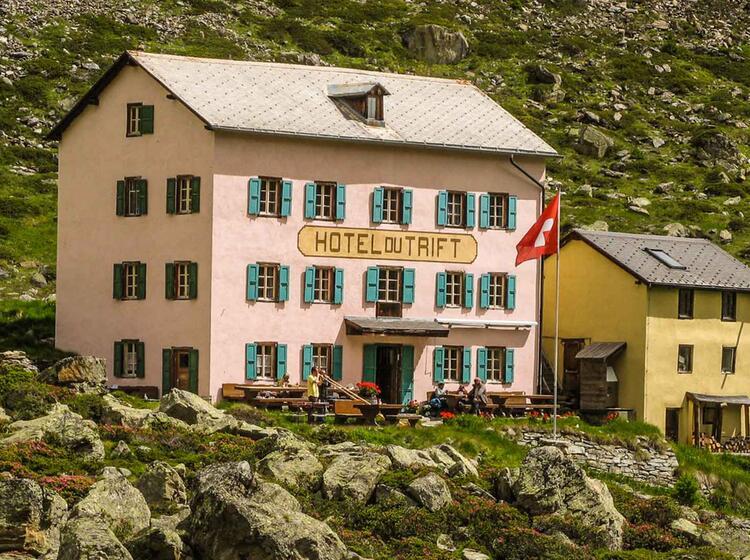 Wandern In Der Schweiz In Zermatt