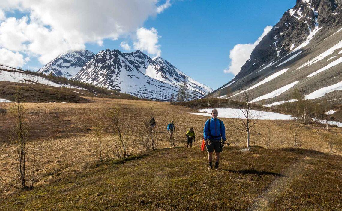 Wandern In Nordnorwegen Lyngen Alpen