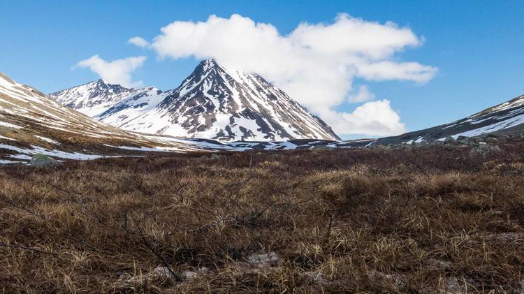 Wandern In Tromsoe Norwegen