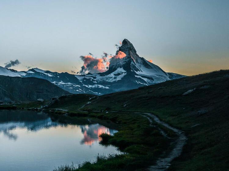 Wandern Rund Um Zermatt Am Matterhorn Auf Der Gefuehrten Wanderwoche