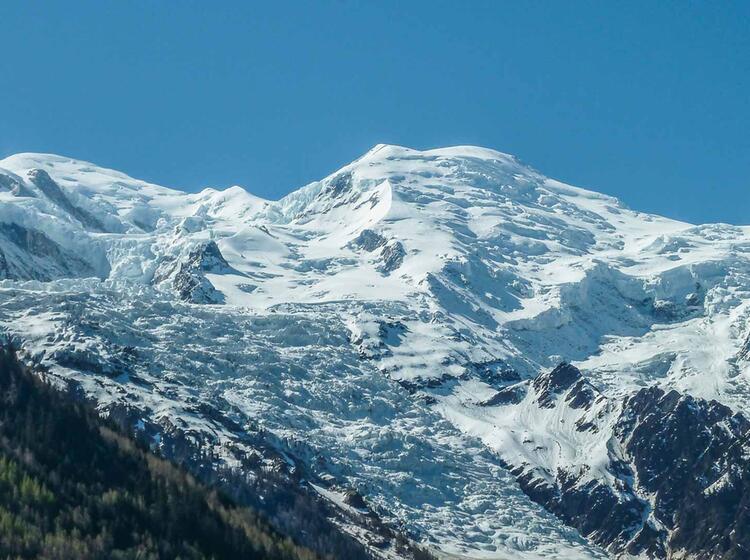 Wandern Um Den Hoechsten Gipfel Der Alpen Auf Der Tour Du Mont Blanc