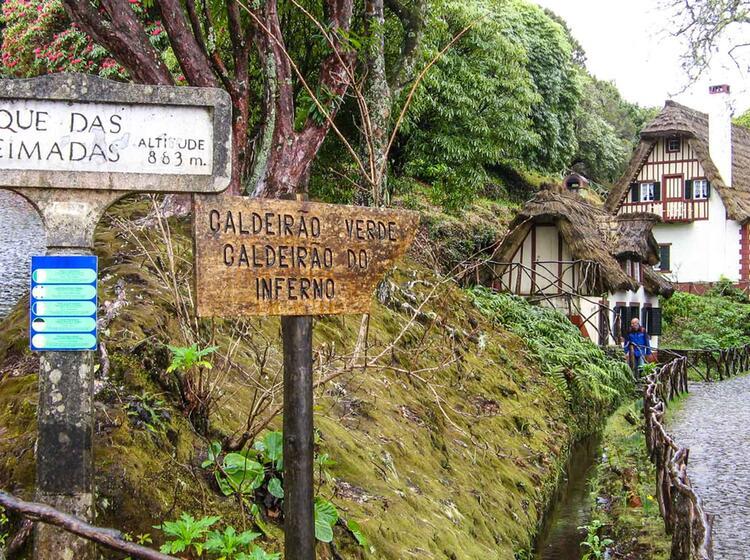 Wandern Und Entspannen Auf Madeira