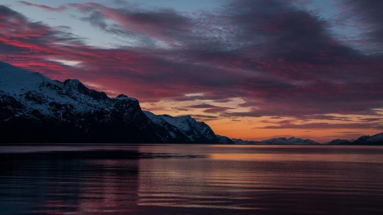 Wandern Und Schneeschuhwandern In Norwegen