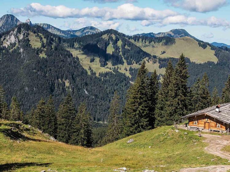 Wandern Von Huette Zu Huette Am Spitzingsee Und Der Rotwand