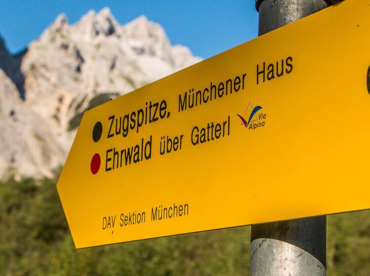 Wandern Zur Zugspitze