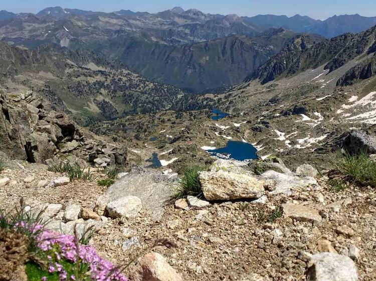 Wanderreise Spanien Espot10 Gipfelanstieg