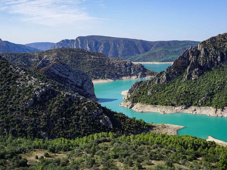 Wanderreise Spanien Mont Rebei1