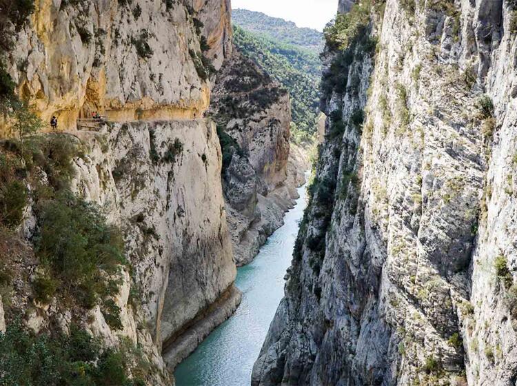 Wanderreise Spanien Mont Rebei4