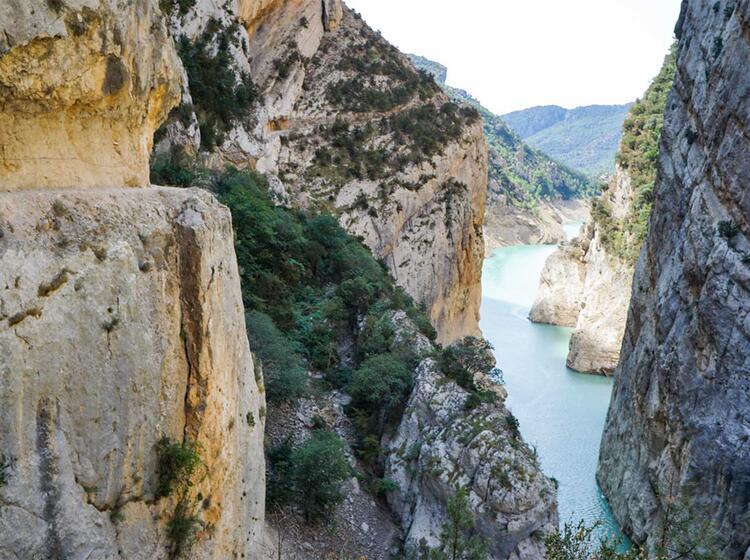 Wanderreise Spanien Mont Rebei5