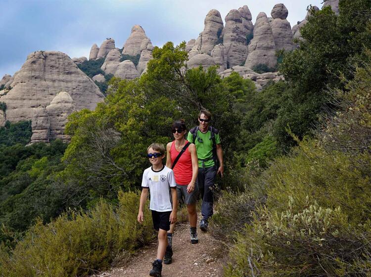 Wanderreise Spanien Montserrat1