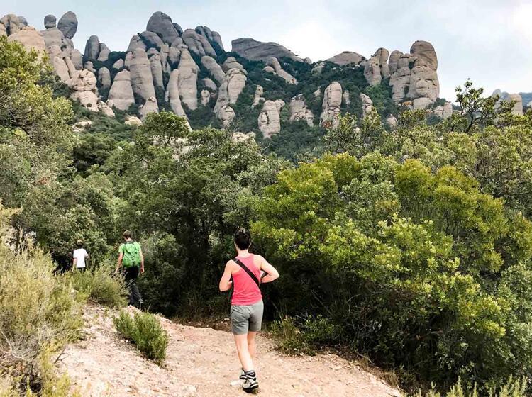 Wanderreise Spanien Montserrat2