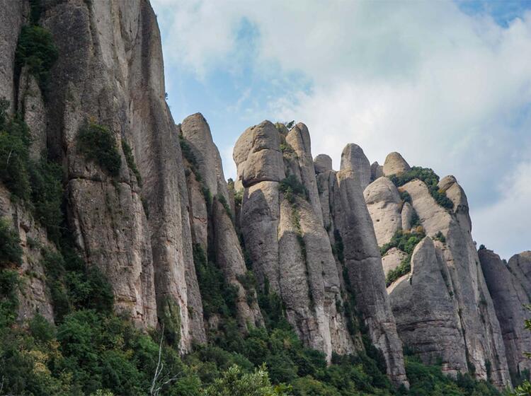 Wanderreise Spanien Montserrat3