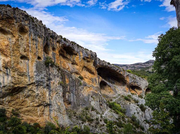 Wanderreise Spanien Sierra Guara Alquezar2