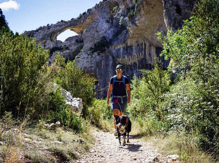 Wanderreise Spanien Sierra Guara Mascun2