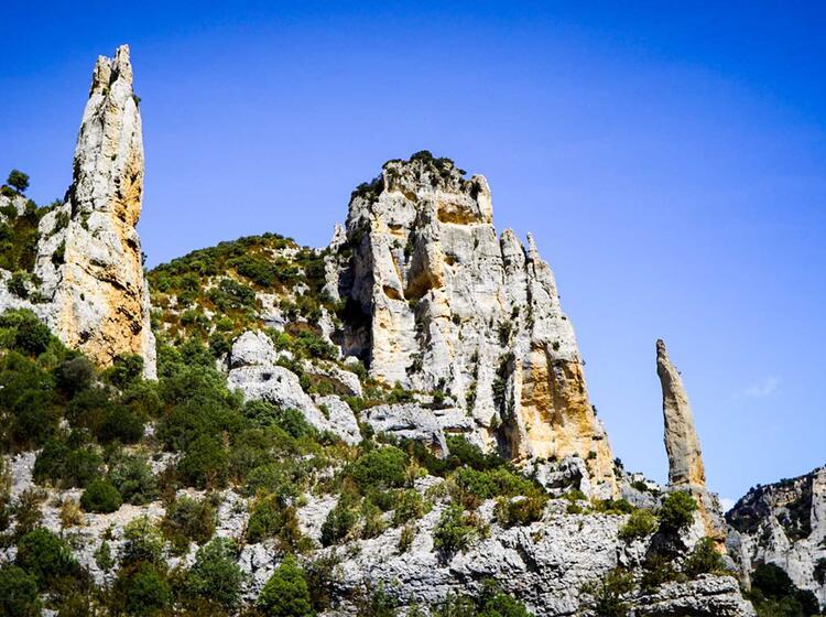 Wanderreise Spanien Sierra Guara Mascun3