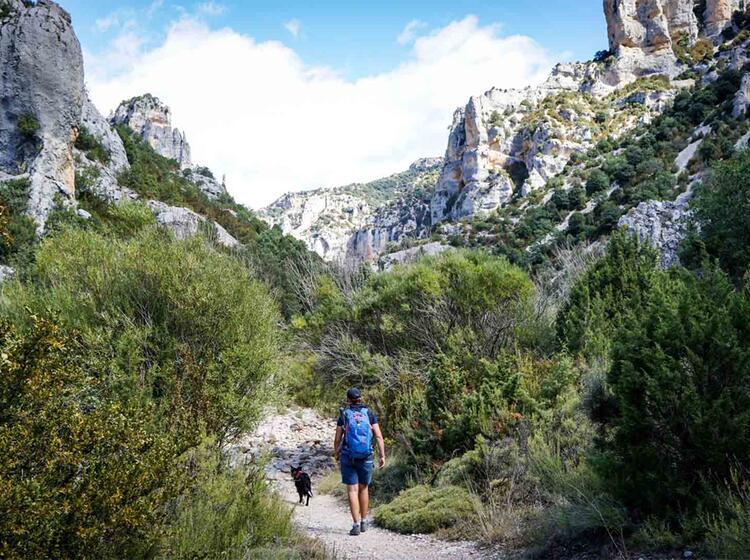 Wanderreise Spanien Sierra Guara Mascun4