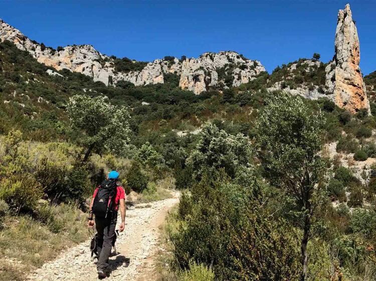 Wanderreise Spanien Sierra Guara Mascun6