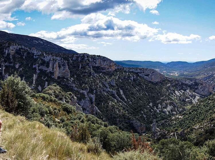 Wanderreise Spanien Sierra Guara Mascun7