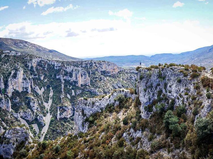Wanderreise Spanien Sierra Guara Mascun8