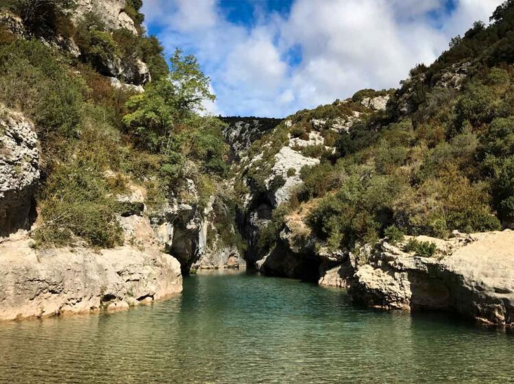 Wanderreise Spanien Sierra Guara Rodellar Alcanadre1