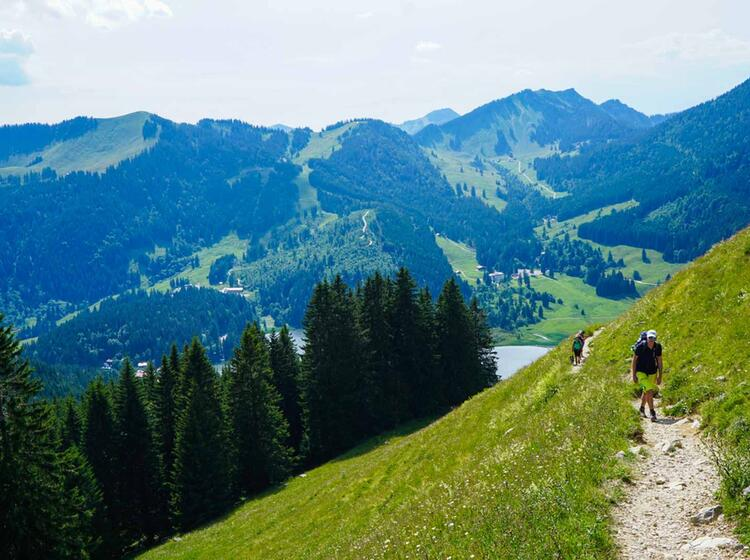 Wandertour Am Spitzingsee Und Tegernsee