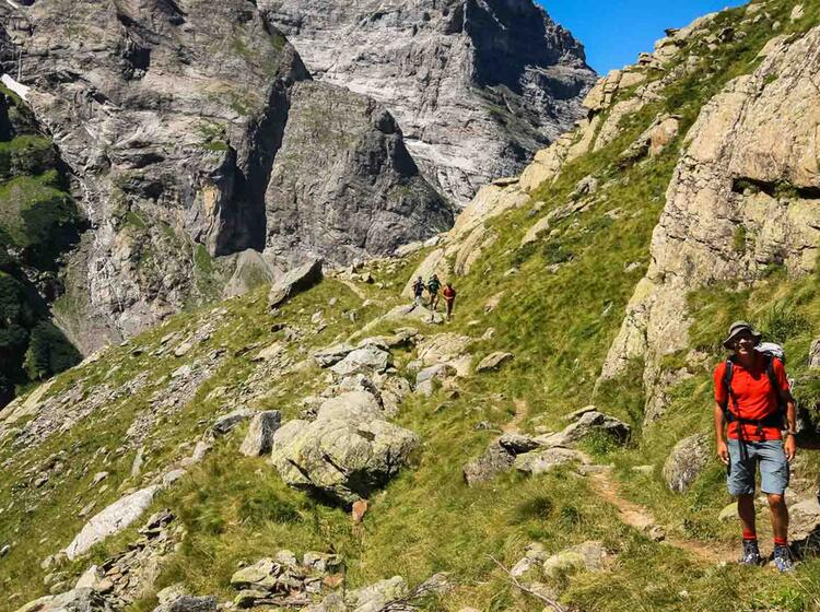 Wanderung Zur Schreckhornhuette