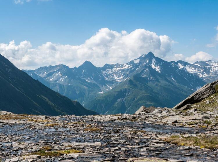 Wanderwege In Den Hohen Tauern Von Huette Zu Huette