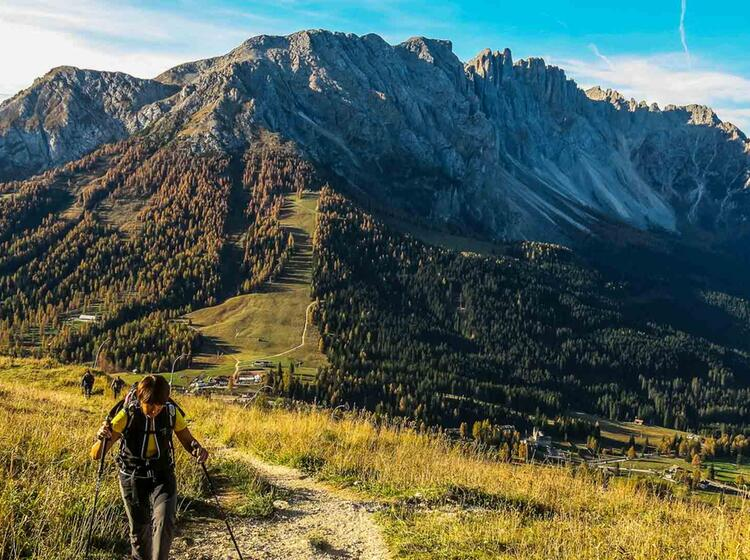 Wanderwoche Dolomiten Rosengarten